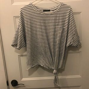 Striped top from boutique